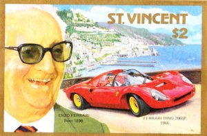 Francobollo St Vincent Dino 206 SP