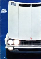 Fiat Dino coupe 2400 brochure