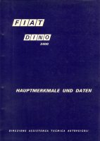 Fiat Dino 2400 workshop manual